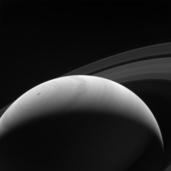 Sunrise on Saturn - NASA