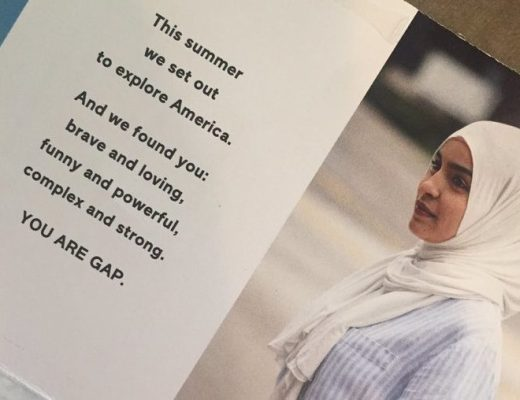 Gap campaign featuring woman in hijab