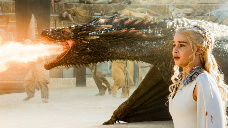 Scene from Game of Thrones - HBO