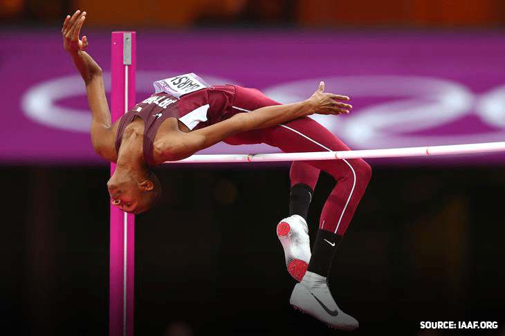 Mutaz Barshim took home gold to Qatar at the 2017 IAAF World Championships