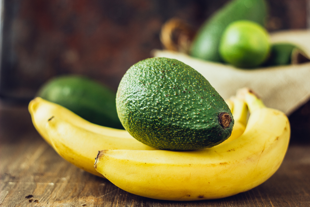 Bananas, avocados and other high potassium rich foods can prevent heart attacks