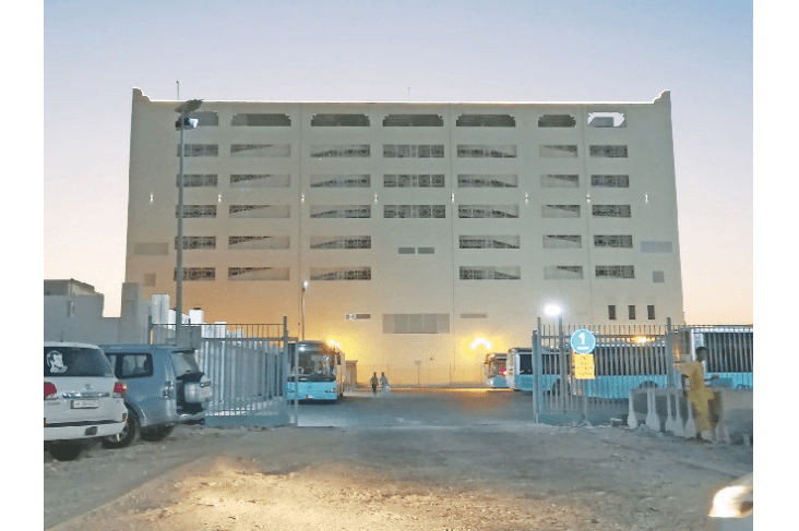 new parking building in Doha next to Souq Waqif, by Kahramaa