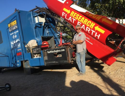 Mad Mike Hughes plans to launch homemade rocket to prove flat earth theory