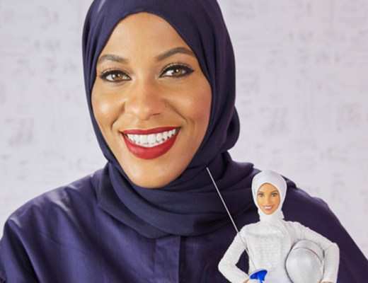 Newest Barbie doll by Mattel is sporting a hibaj, inspired by hijabi Olympic fencer Ibtihaj Muhammad
