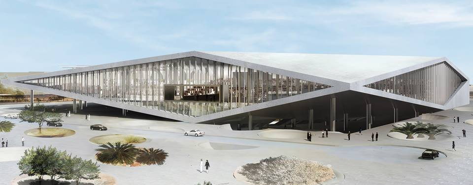 Qatar National Library at Education City