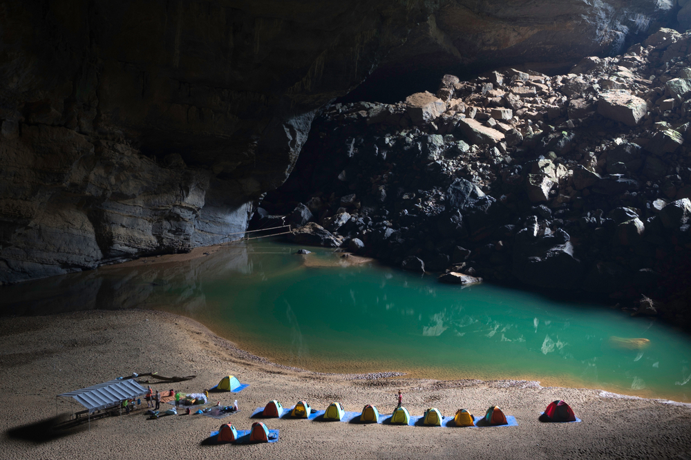 Son Doong Cave campsite