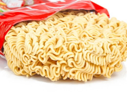 you should throw out your instant noodles right away because they serve no nutritional value