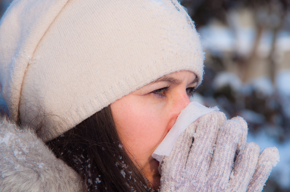 Why cold and dry air gives you a runny nose