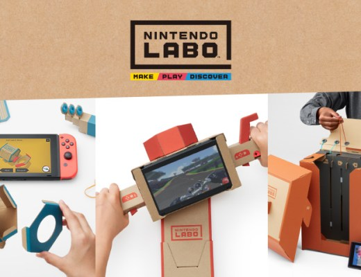 nintendo switch revolutionized video gaming experience with cardboard nintendo labo