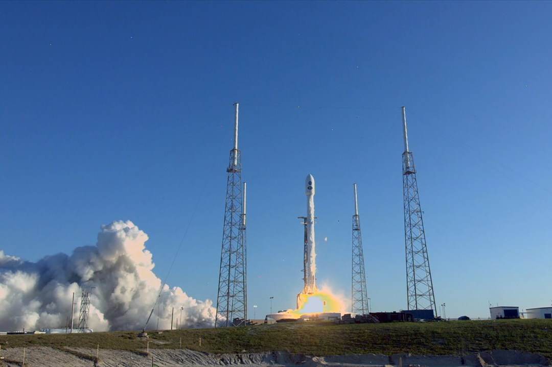 The SpaceX - NASA TESS launch into space