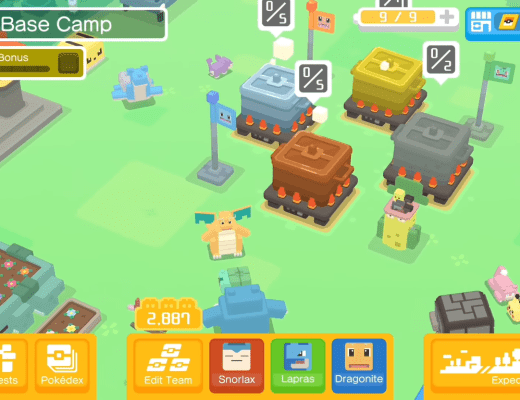 Pokemon Quest and Pokemon Let's Go are three of four new Pokemon games for Nintendo Switch