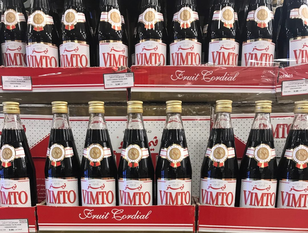 Vimto is the most popular sugar drink during Ramadan in the Arab Gulf