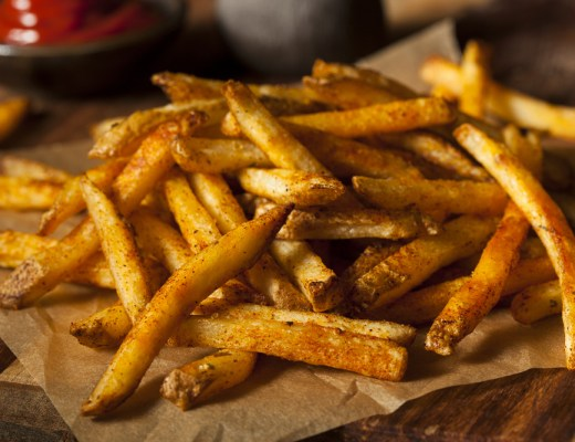 How to reheat leftover french fries at home