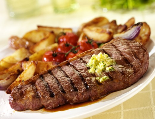 steak dinner, tasty and quick steak recipe