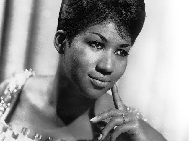 A young Aretha Franklin