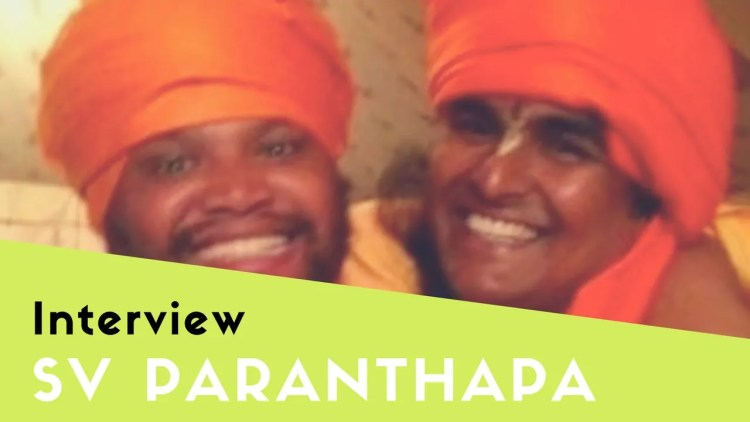 interview with swami paranthapananda