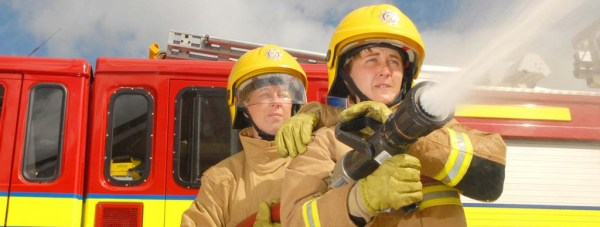 female-firefighter