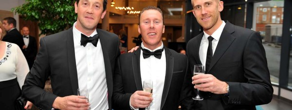 The Directors of Brayford Hotels, which owns DoubleTree by Hilton Lincoln, (left to right) Leigh Hall, Dean Wann and Richard Farrar.