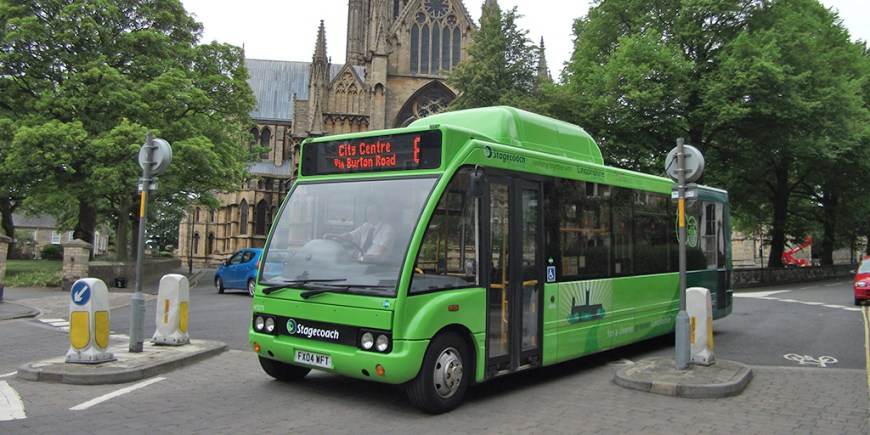 BioBus in uphill Lincoln. Photo: File / The Lincolnite