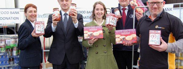 Foodbank-donation