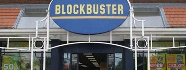 The Blockbuster store in the Carlton Centre in Lincoln