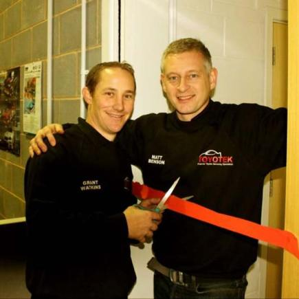 Owners of the new venture, Grant Watkins (L) and Matt Benson (R)