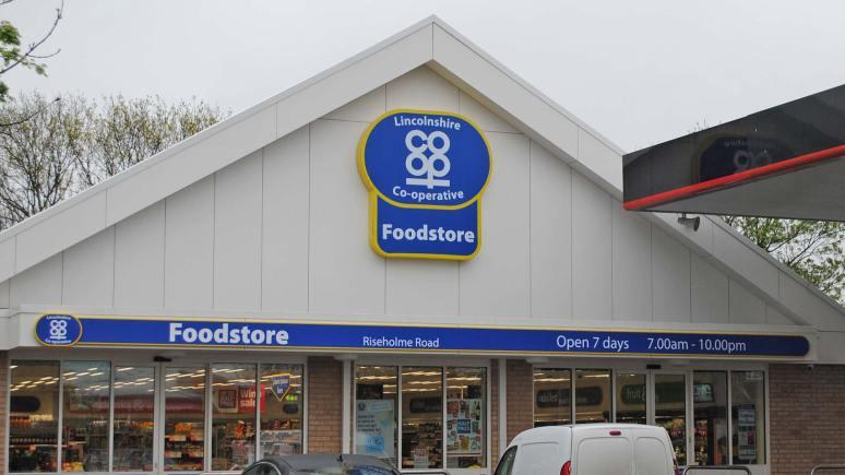 Lincolnshire Co-operative store in Lincoln