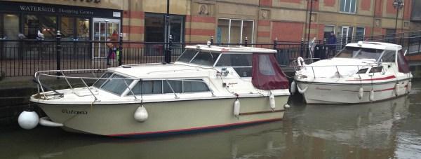 Waterside boats