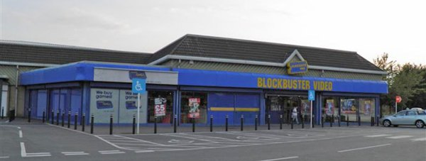 Blockbuster Moorland Close