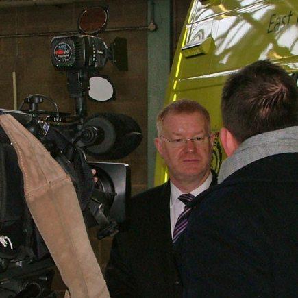 East Midlands Ambulance Service Chief Executive, Phil Milligan.