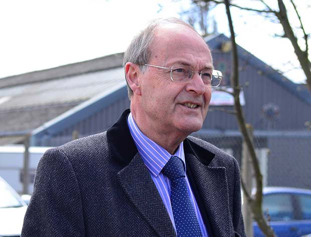 Lincolnshire Police and Crime Commissioner Alan Hardwick. Photo: Steve Smailes for The Lincolnite