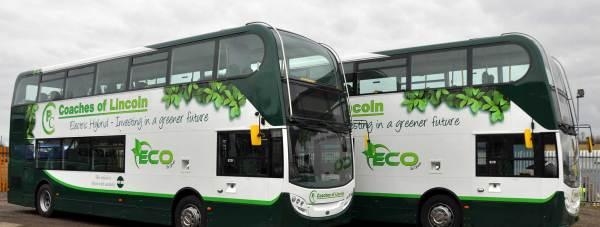 PC Coaches Decker Enviro 400 Number 47 LN6 Bus