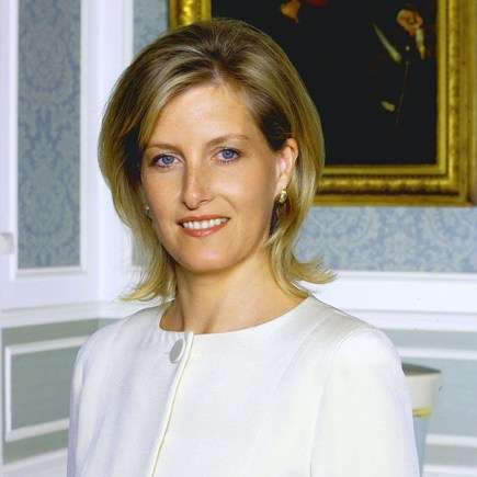 The Countess of Wessex Sophie, who is married to Prince Edward