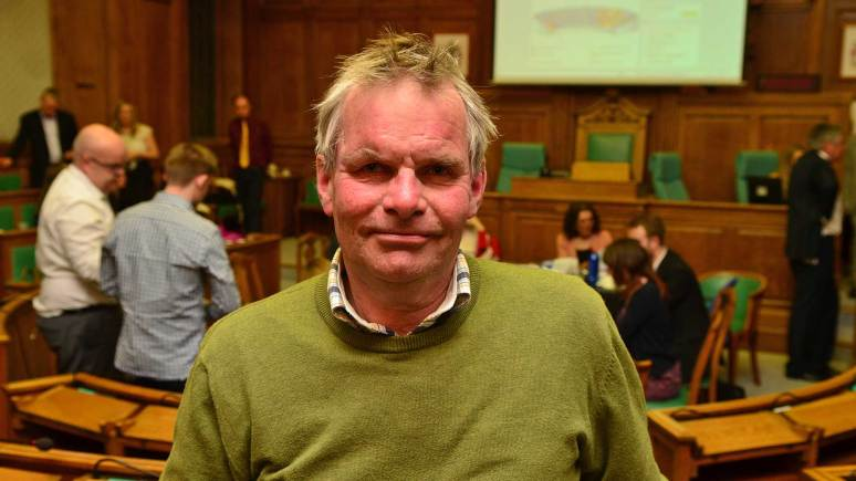 Lincolnshire County Council Leader Martin Hill. Photo: Steve Smailes for The Lincolnite