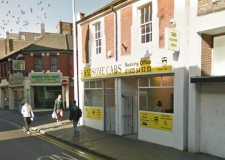 Clasketgate in Lincoln, outside Handsome Cabs. Photo: Google Street View