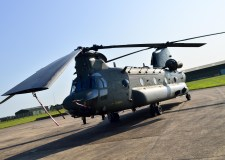 Chinook HC2 variant ready to display. Photo: Steve Smailes for The Lincolnite