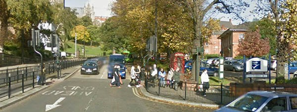 Junction below Lindum Hill. Photo: Google Streetview
