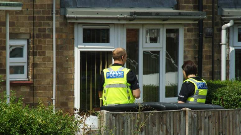 Lincolnshire Police responded to a call concerning the safety of the person living at a flat on Sansford Green off Moorland Avenue in Lincoln. Photo: James Seaman
