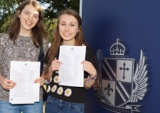William Farr pupils Elinor Clark and Amy Cragg, managed to both get ten A* grades in their GCSEs.