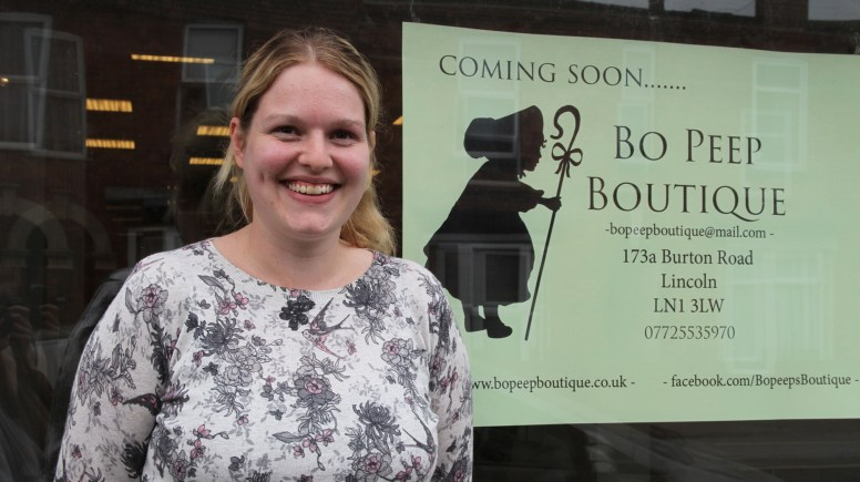 Bo Peep Boutique shop owner Emma Graham will be launching the designer children's outlet on Burton Road later this month.