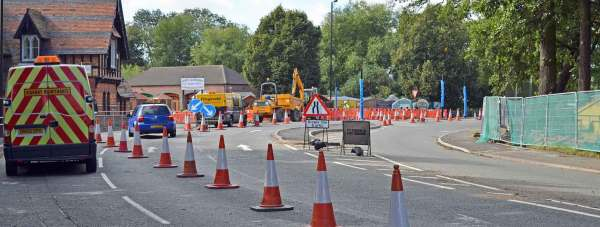 The road works on Newark Road on September 16, 2013. Photo: File/The Lincolnite