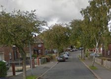 The incident happened in the back garden of a house on Roman Pavement in Lincoln. Photo: Google Street View