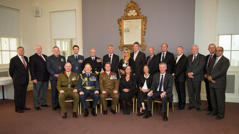 Graduation Day for Military Students at the University of Lincoln. Photo: Photographic section at RAF College Cranwell