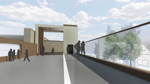 The footbridge would help reduce crowds waiting at the High Street level crossing in Lincoln.