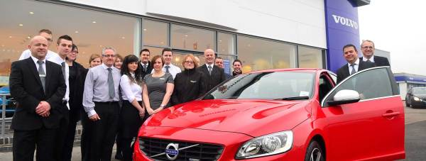The Stoneacre Volvo team in Lincoln. Photo: Steve Smailes for The Lincolnite