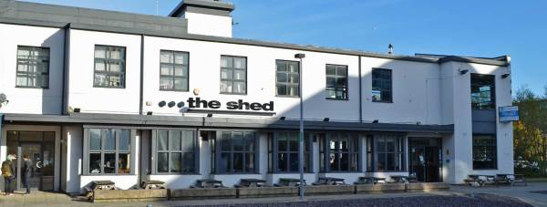 The Shed student bar on the University of Lincoln Brayford campus. Photo: File/The Lincolnite