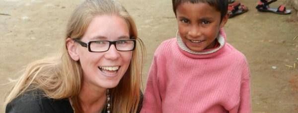 Hazel Swan on her volunteering journey in Kokkal, South India.
