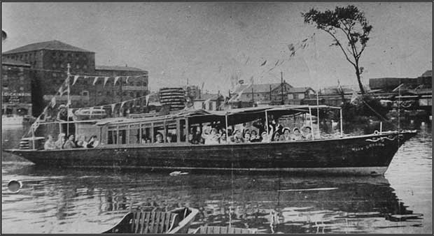 The Mary Gordon boat in Lincoln. Photo: The Mary Gordon Trust