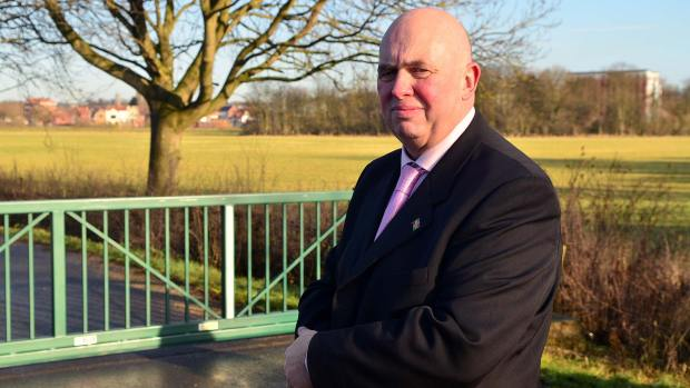 Councillor Colin Davie, Executive Member for Economic Development at Lincolnshire County Council. Photo: Steve Smailes for The Lincolnite