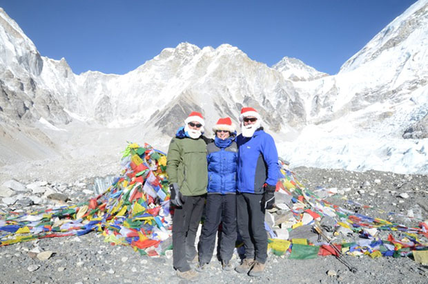 Dr Rona Mackenzie climbing Mt. Everest this Christmas.